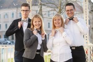 Člani finalne podjetniške skupine z inovacijo Dišeči modni metulj