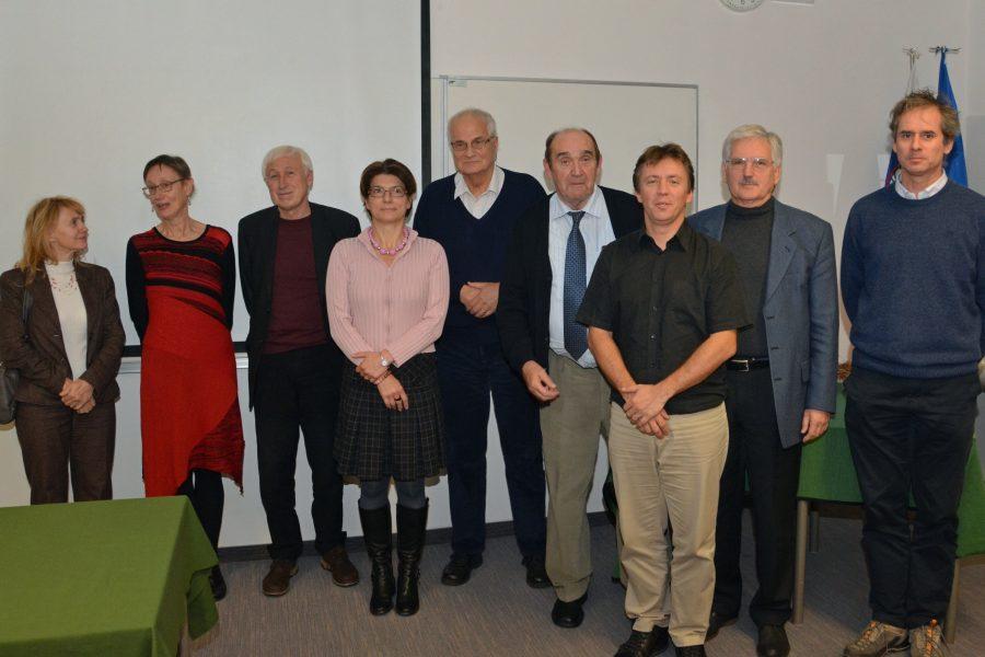 Profesorji z nekaterimi svojimi doktoranti