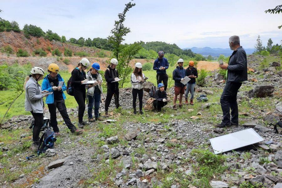 Terenske vaje pri predmetu Strukturna geologija