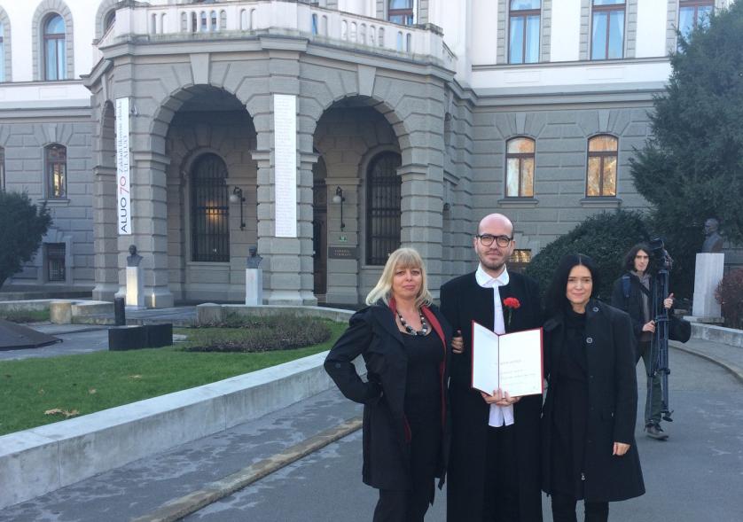 Univerzitetna Prešernova nagrada 2015, Peter Movrin, NTF