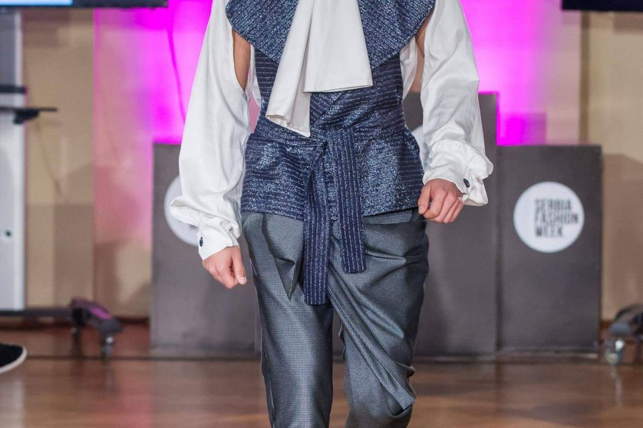Dejan Petrović, kolekcija #buysexual, Serbian Fashion Week